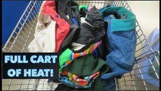 Thrifting Mens Vintage + Streetwear Clothes!! 2019 Thrift Vlog!!!