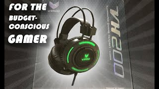 Rapoo VPRO VH200 - Illuminated Gaming Headset (Unboxing and Review) - Super Cheap Headset