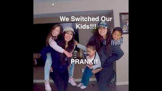 TWIN MOMS SWITCH CHILDREN PRANK!!!