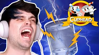 PLAYING CUPHEAD WITH CUPS OF WATER