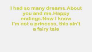 White Horse Taylor Swift with Lyrics