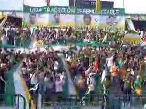 """""""AVS  SALIDA  CONTRA  LAS  GARZAS"""" Barra: Artillería Verde Sur • Club: Deportes Quindío"""
