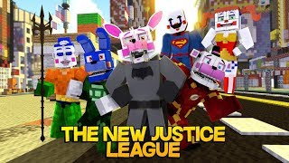 Minecraft Fnaf: Forming The Justice League (Minecraft Roleplay)