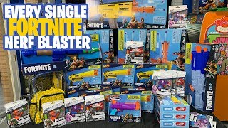 [UNBOXING] Every Single Nerf Fortnite Blaster! 2019
