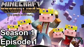 it's time for GENOCIDE (Minecraft Storymode Season 1 Episode 1)