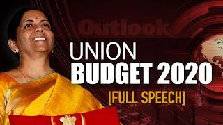 Finance Minister Nirmala Sitharaman's Full Budget Speech