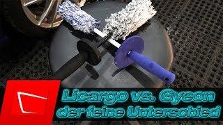 LICARGO Premium Mikrofaser Felgenbürste vs. Gyeon Wheel Brush Der feine Unterschied entscheidet!