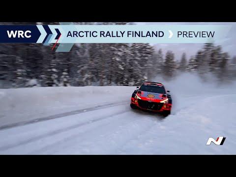 WRC 2021 第2戦のラリーフィンランドに挑むヒュンダイチームのラリー前のダイジェスト動画