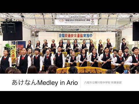 あけなんMedley in Ario 曙川南中学校 吹奏楽部