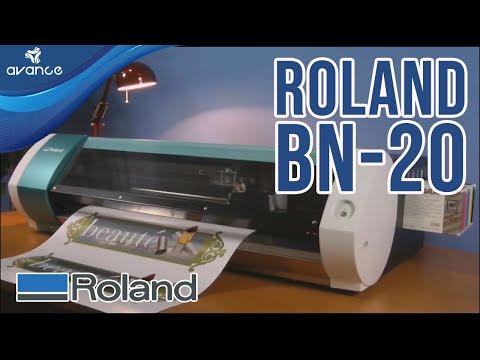 Impresora y Cortadora de escritorio Roland Versa Studio BN20