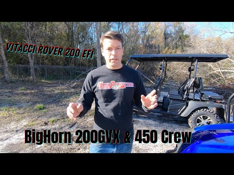 2021 Bighorn Powersports Bighorn 200 GVX in Savannah, Georgia - Video 1
