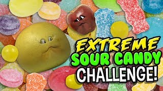 Annoying Orange - Extreme Sour Candy Challenge!