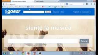 Descargar MP3 de Descargar música de Goear sin descargar ningún programa