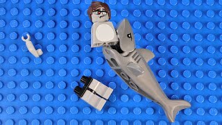 LEGO Zombie Shark Attack | LEGO Zombie Family Ep. 1 | Mic Drop Films