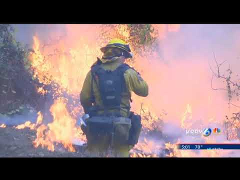 Containment continues to go up at massive Thomas Fire