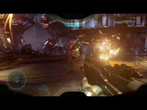 Halo 5: Guardians Walkthrough - Halo 5 Cutscene - Halo 5 Guardians