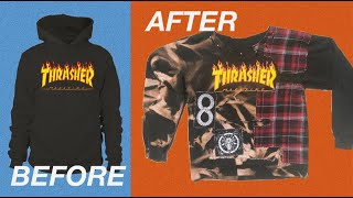 Turning My Old Hoodie Into Something DOPE