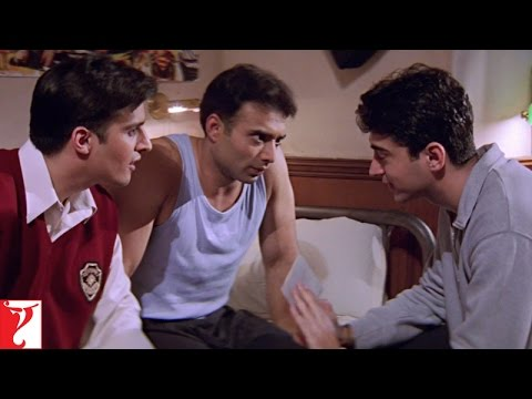 Scene: Kismat Mein Milna Likha Hai | Mohabbatein | Uday Chopra | Jugal Hansraj | Jimmy Shergill