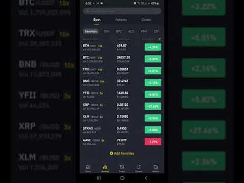 Bitcoin pusė poveikio