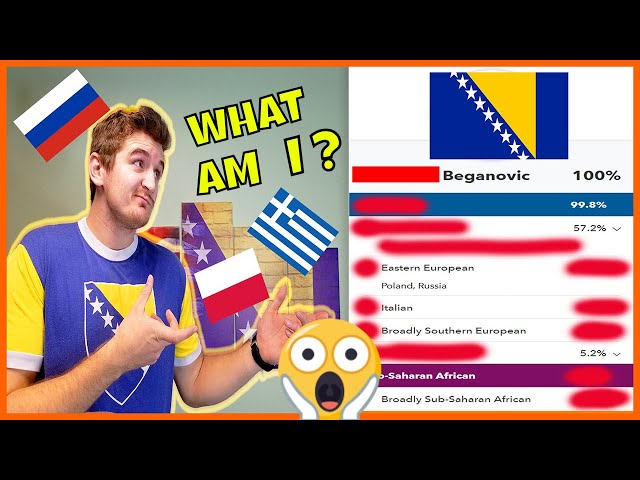 Bosnian Has Shocking DNA Ancestry Results