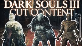 Dark Souls 3 Unused Content ► MORE HIDDEN ARMORS AND WEAPONS!
