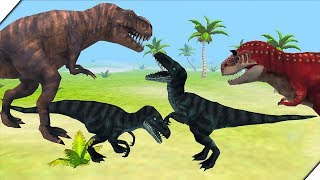 БИТВА ДИНОЗАВРОВ - Jurassic Battle Simulator 3D. Динозавр