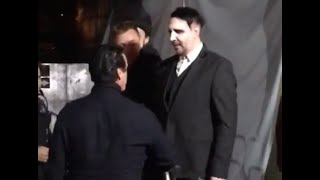 Marilyn Manson meets Till Lindemann on backstage of Maximus Festival Brazil 2016
