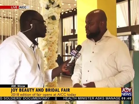 Joy Beauty and Bridal Fair - AM Show on JoyNews (12-7-18)