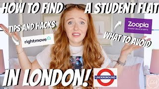 HOW TO FIND A STUDENT FLAT IN CENTRAL LONDON! TIPS, TRICKS & MONEY SAVING HACKS - Lucy Stewart-Adams