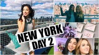 New York Day 2 - Maybeline & Elf Party, Shopping in SoHo!