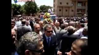 preview picture of video 'الجنازة العسكرية لشهيد العريش'