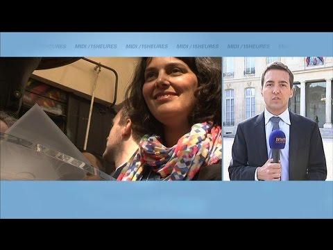 Myriam El Khomri succède à François Rebsamen au ministère du Travail (Màj vidéo)
