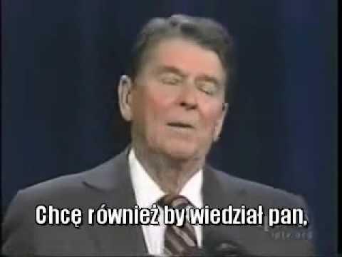 Cięta riposta Ronalda Reagana