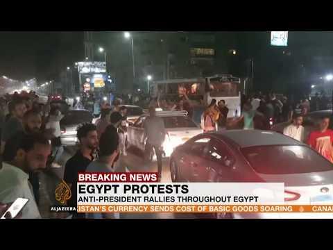 Protesta te dhunshme ne Egjipt