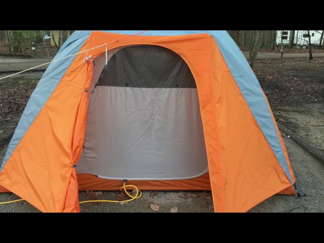 Видео Палатка Marmot Limestone 6P Hatch/Dark Cedar