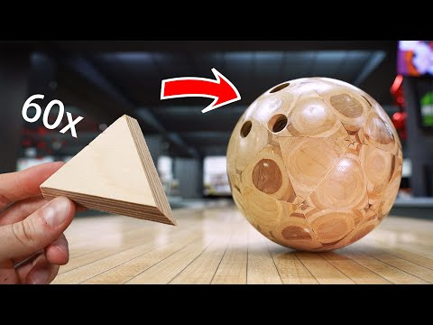 Making a Bowling Ball Out of Plywood