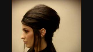 Runway Hair for Nordstrom. Amy Winehouse inspired. Audrey Bethards, Hair and Makeup, Inc.
