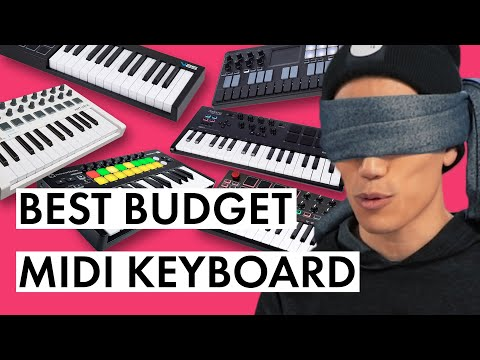 BLIND TESTING THE CHEAPEST MIDI KEYBOARDS!