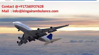 Get the Most Affordable king Air Ambulance Service in Jamshedpur and Bokaro