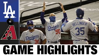 Clayton Kershaw, Cody Bellinger Shine In Dodgers 3-0 Win | Dodgers-D-Backs Game Highlights 8/2/20