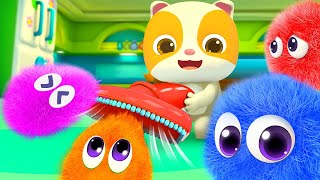 Cute Dust and Robot Cleaners   No No Song   + More Nursery Rhymes & Kids Songs   BabyBus