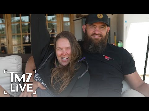 [TMZ]  Ronda Rousey 4 Months Pregnant, Shows Off Baby Bump!