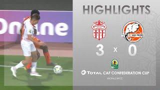CC CAF : Hassania Agadir 3-0 FC San Pédro