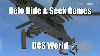DCS World Super Helicopter Hide and Seek Games