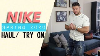 NIKE SPRING 2020 HAUL AND TRY ON | Mens Fashion