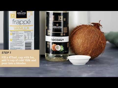 Vanilla Coconut Frappe Recipe