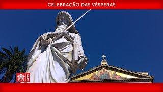 Papa Francisco - Celebração das  Vésperas  2019-01-18