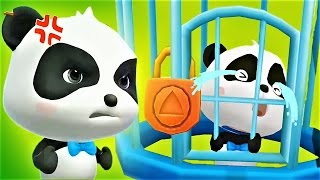 Help The Little Panda To Save The Town  Play Puzzle Game - Baby Panda Gameplay