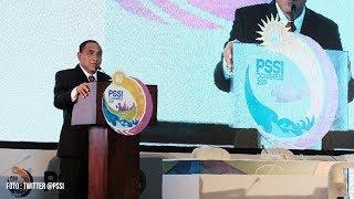BREAKING NEWS! Ketua Umum PSSI Edy Rahmayadi Mengundurkan Diri saat Kongres PSSI 2019 di Bali