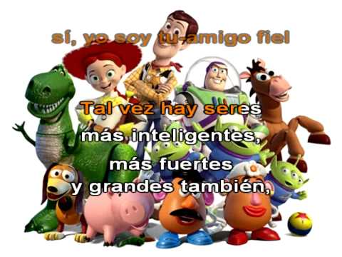 Yo soy tu amigo fiel Toy Story